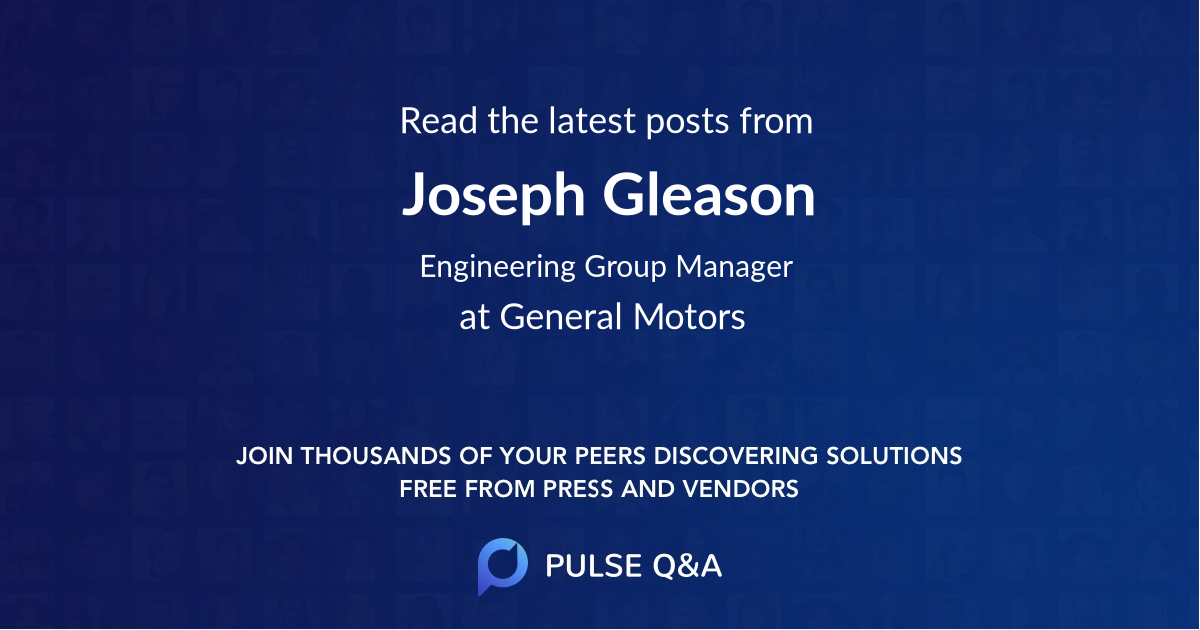 Joseph Gleason