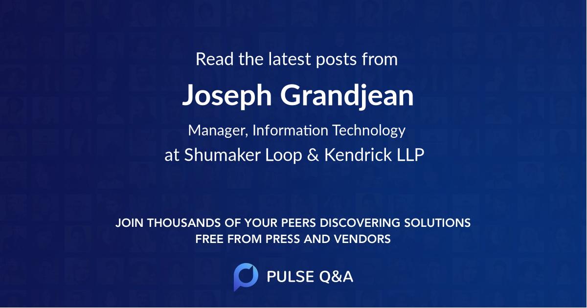 Joseph Grandjean