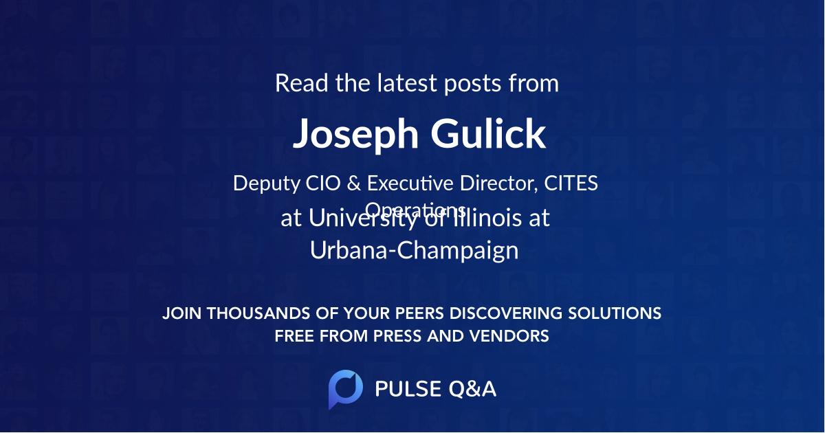 Joseph Gulick