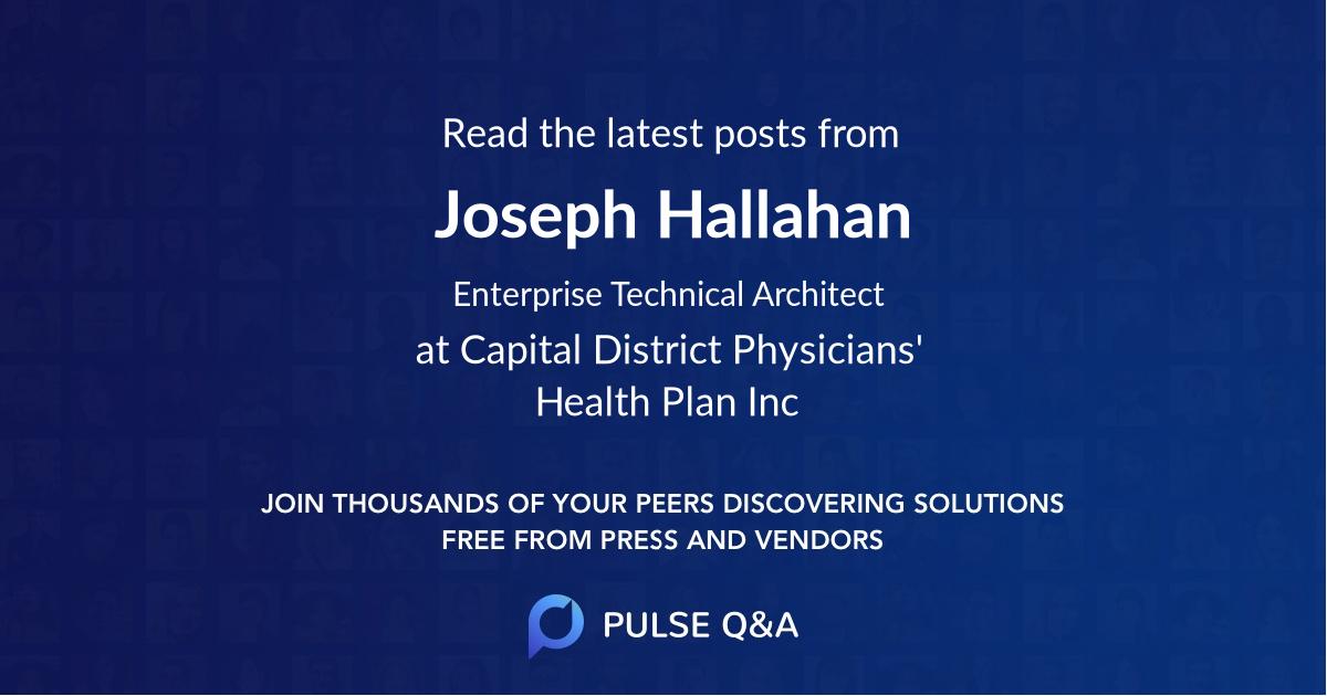 Joseph Hallahan