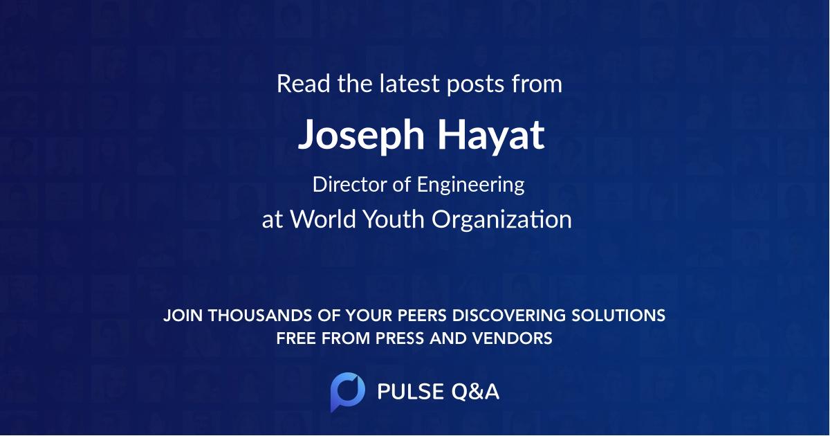 Joseph Hayat