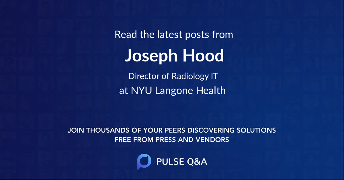 Joseph Hood