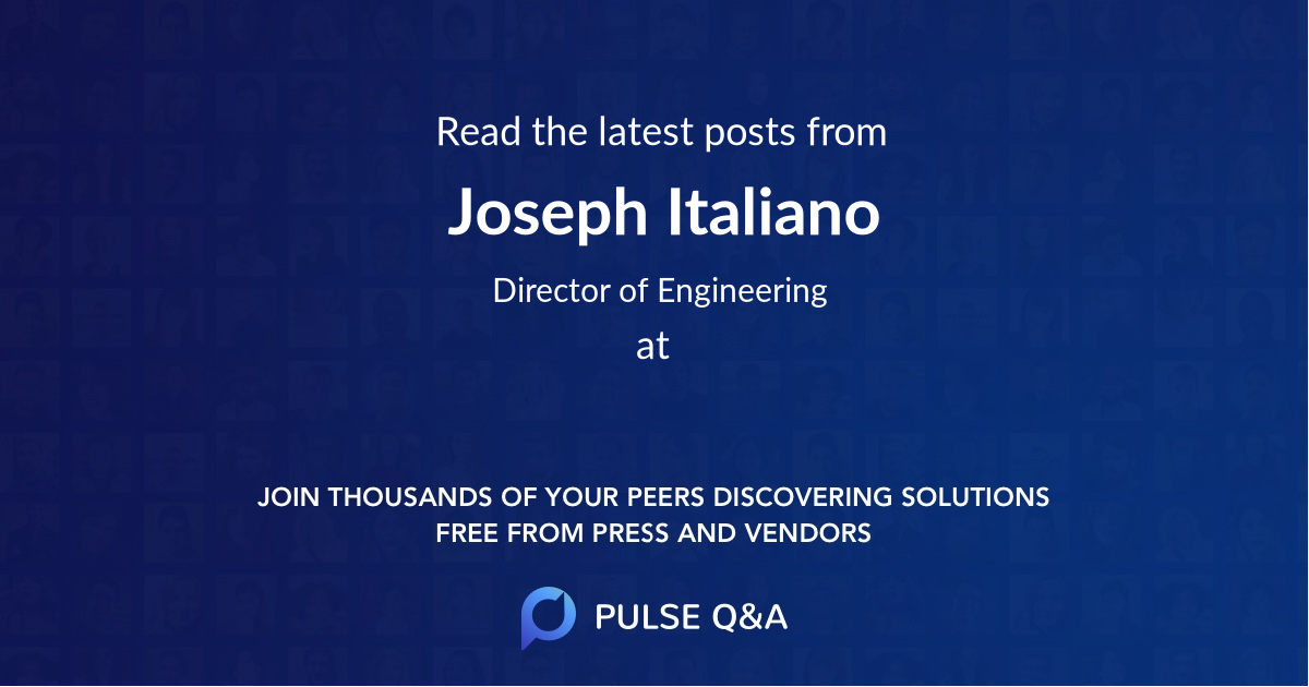 Joseph Italiano