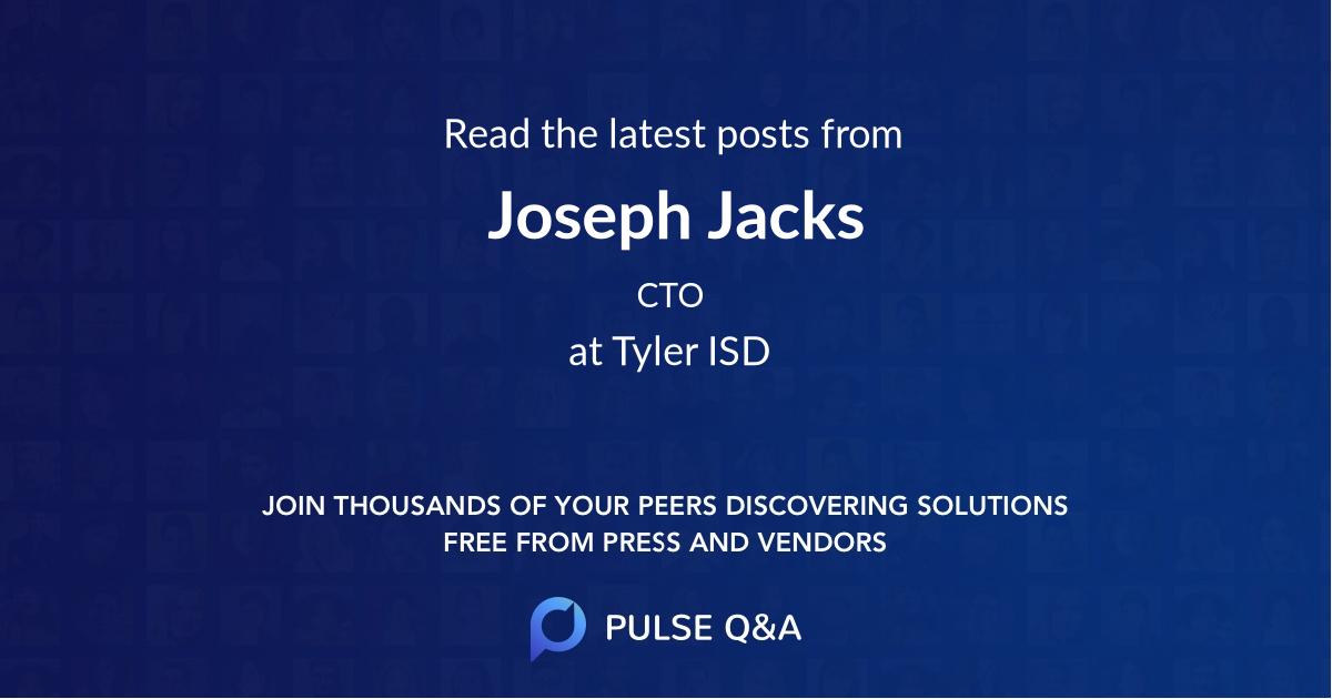 Joseph Jacks