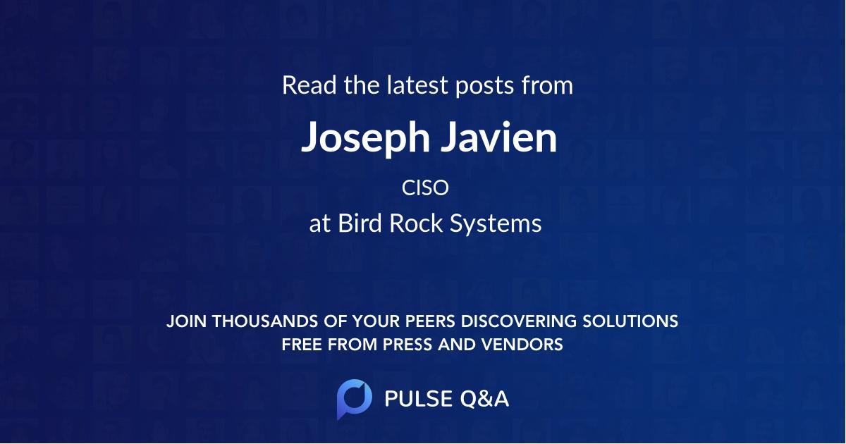 Joseph Javien