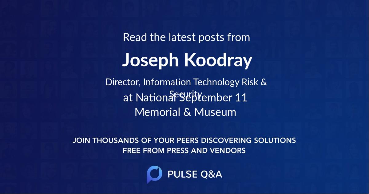 Joseph Koodray