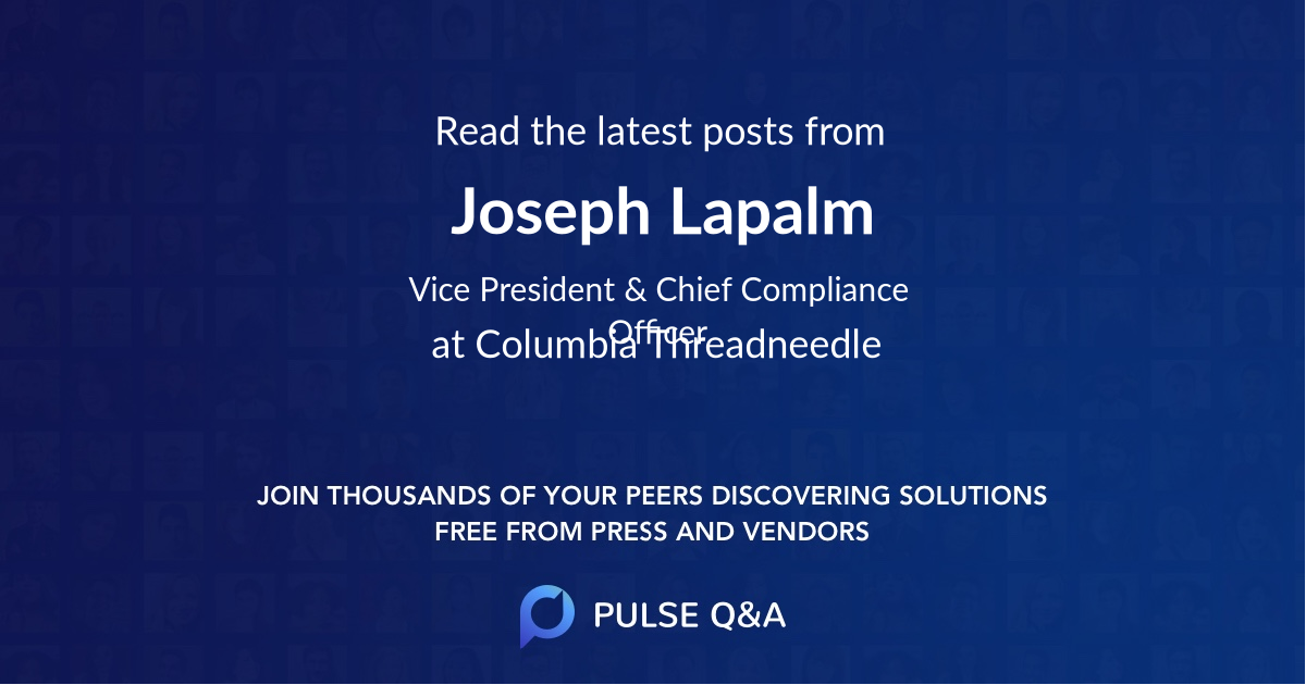 Joseph Lapalm