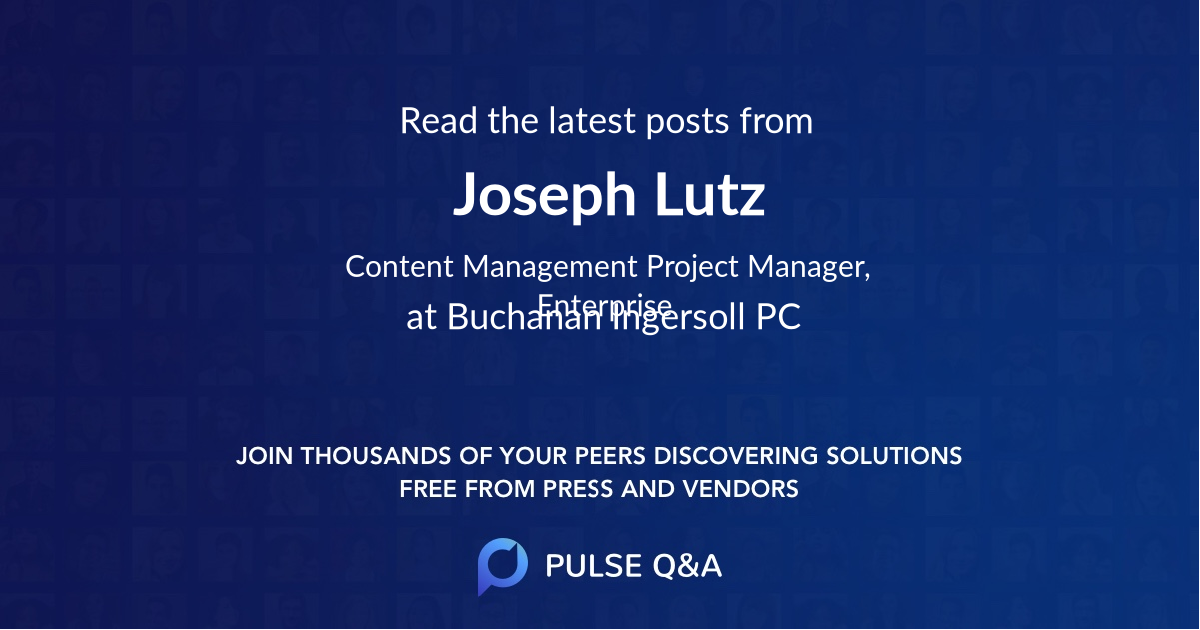 Joseph Lutz