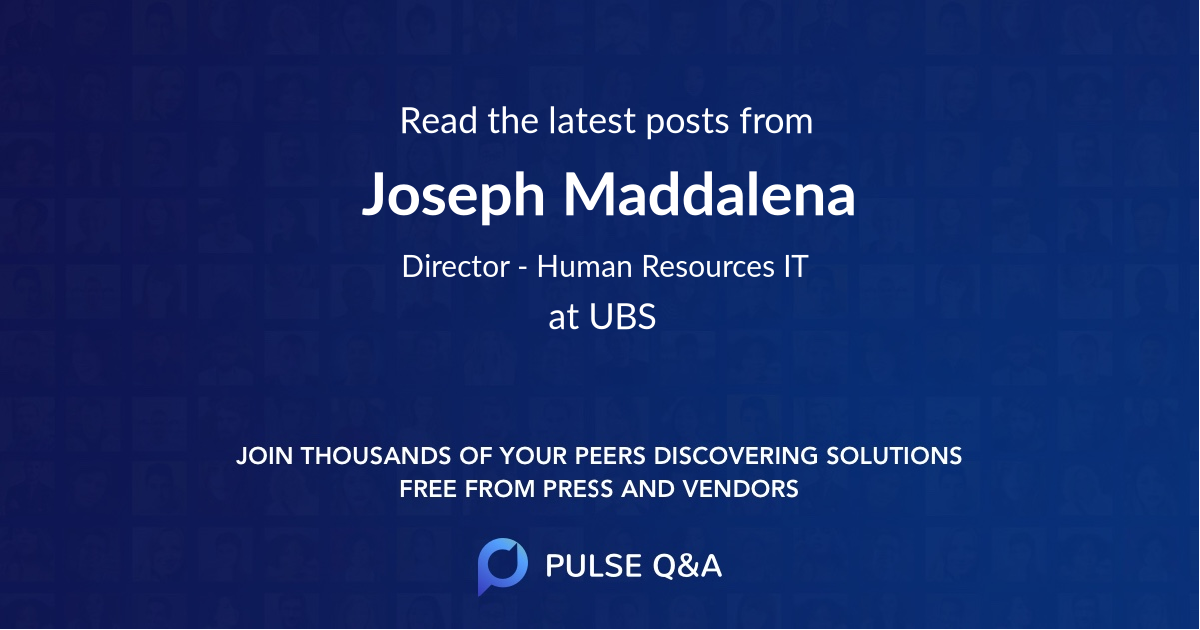 Joseph Maddalena