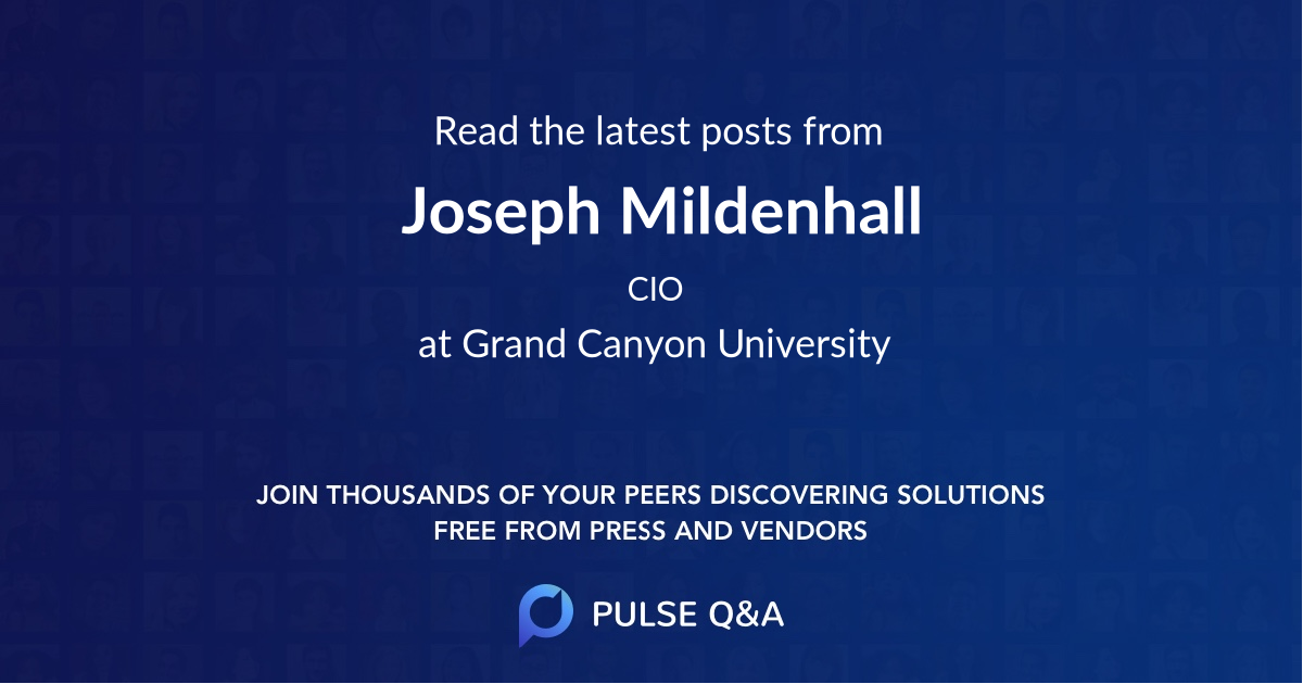 Joseph Mildenhall