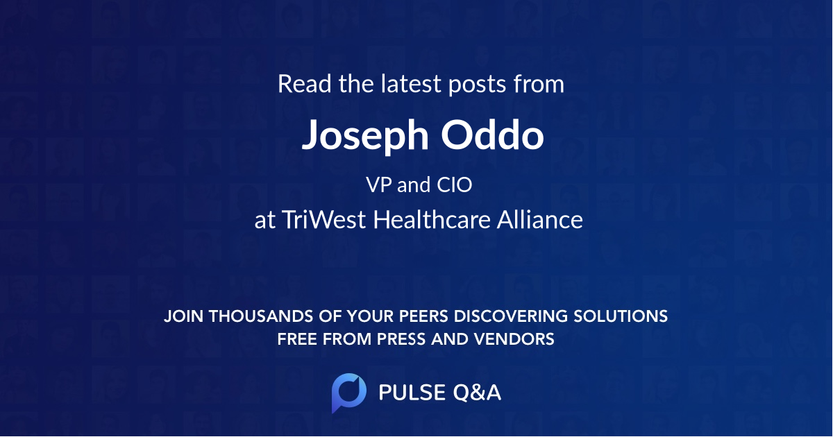 Joseph Oddo