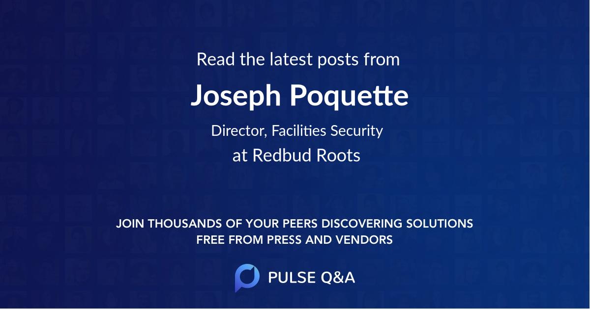 Joseph Poquette
