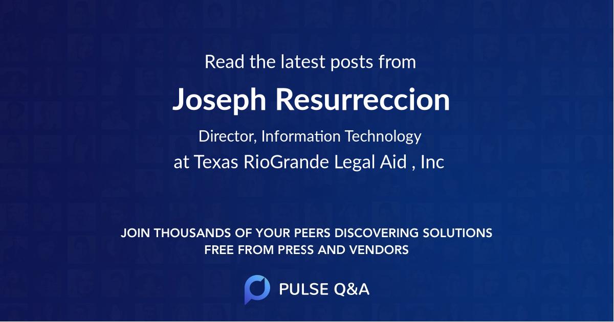 Joseph Resurreccion