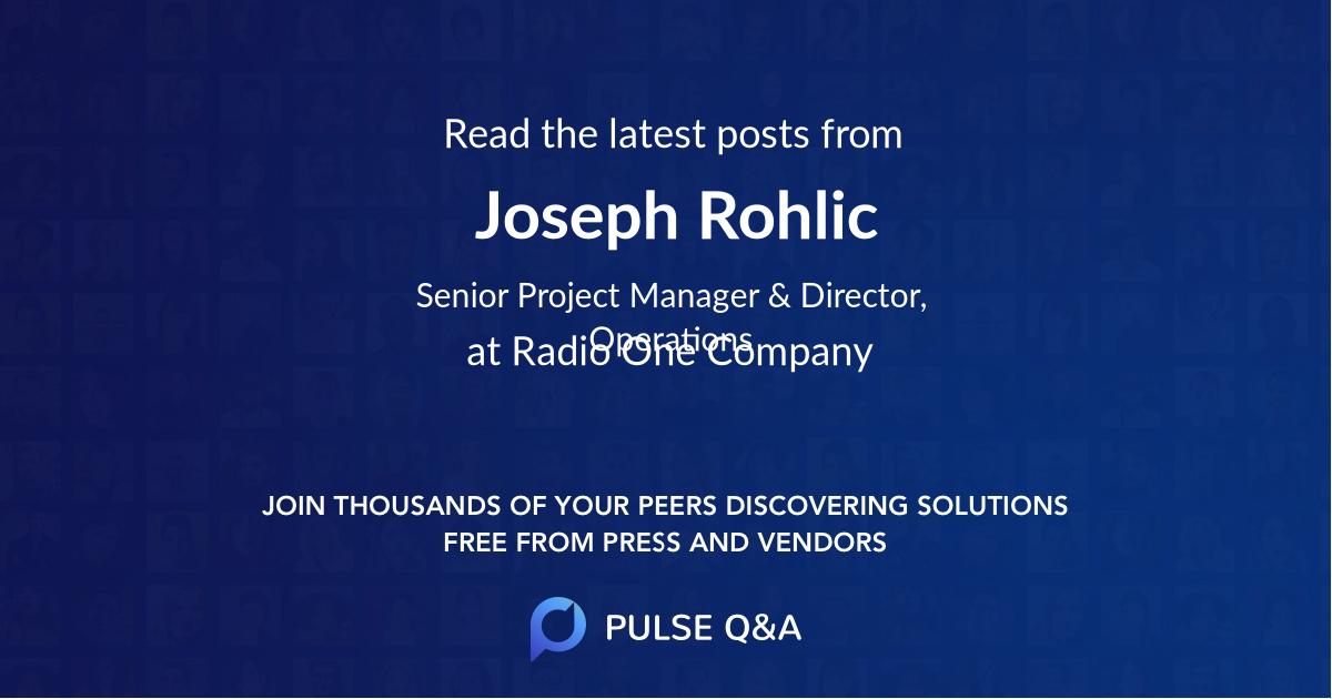 Joseph Rohlic