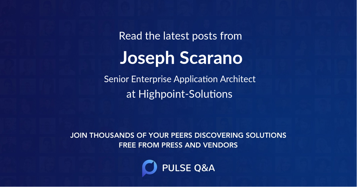 Joseph Scarano