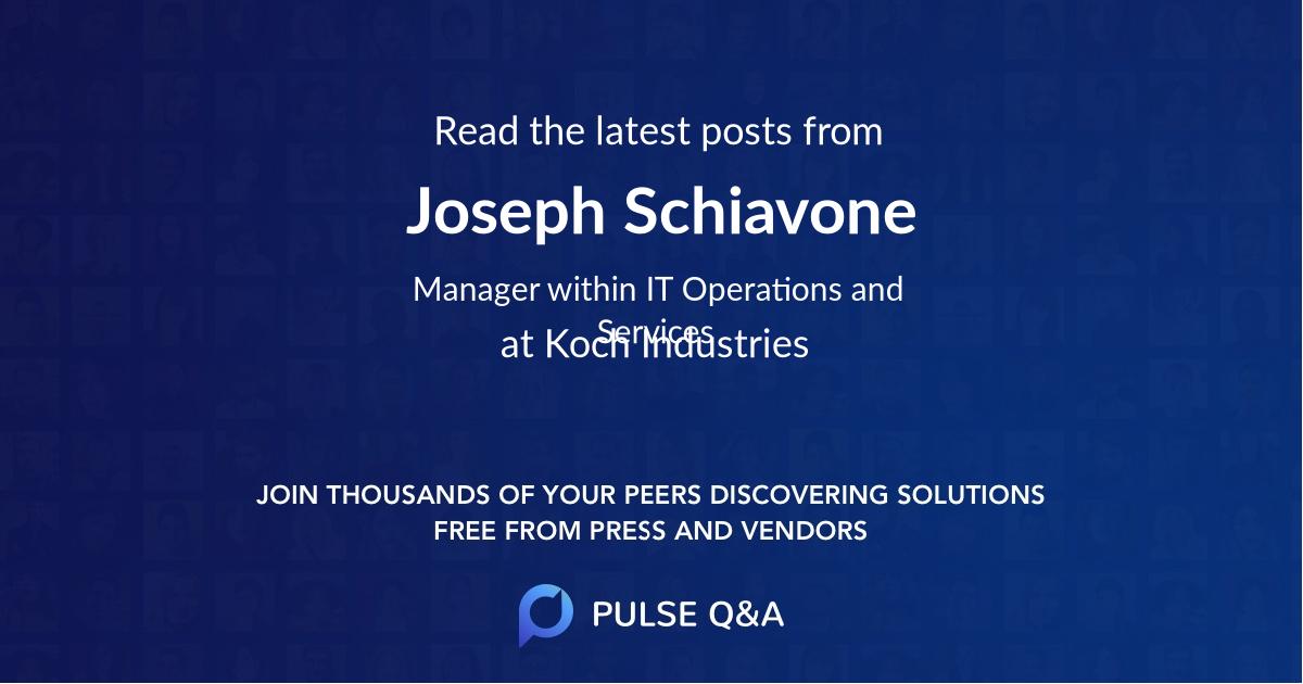 Joseph Schiavone