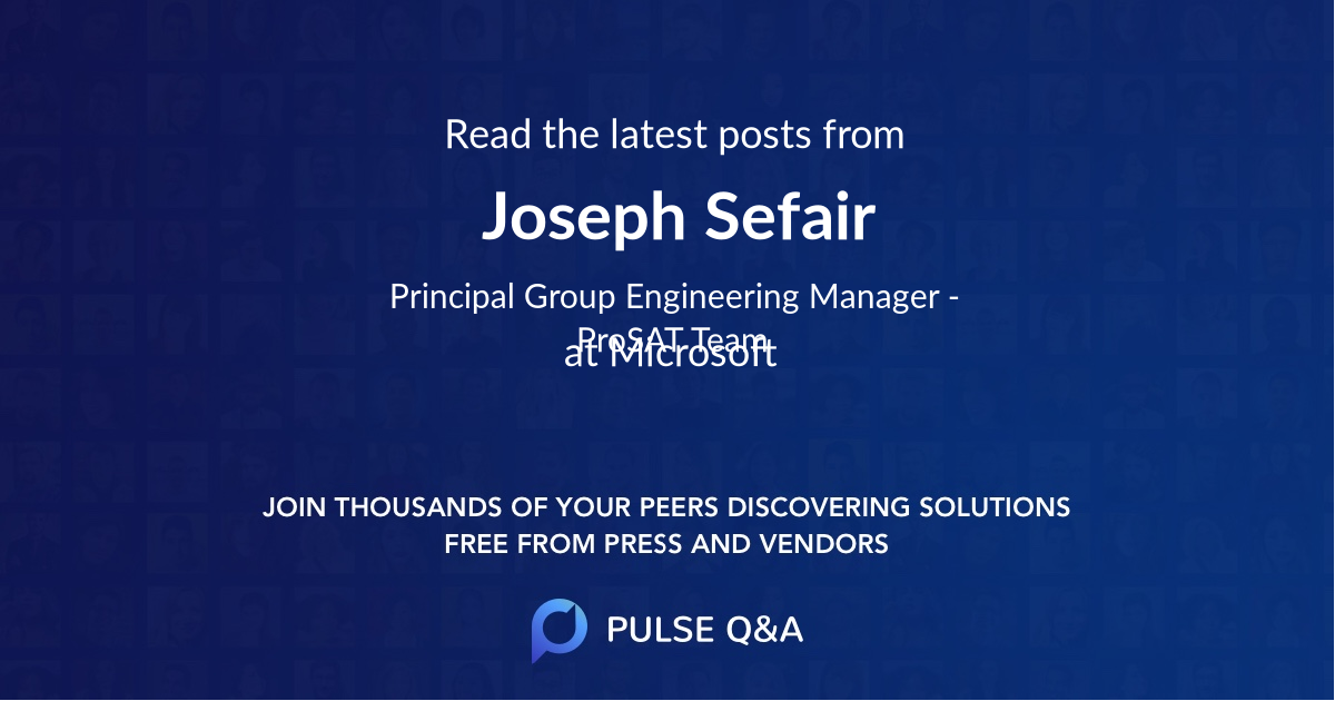 Joseph Sefair