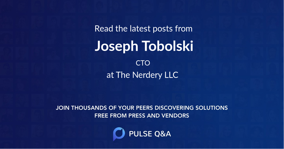 Joseph Tobolski