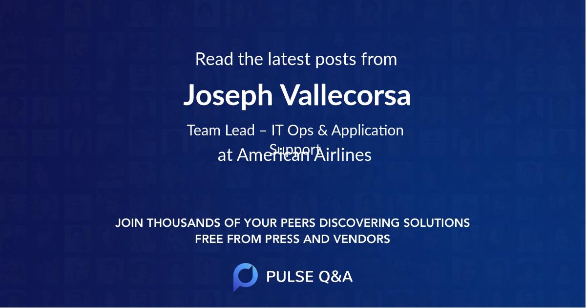 Joseph Vallecorsa