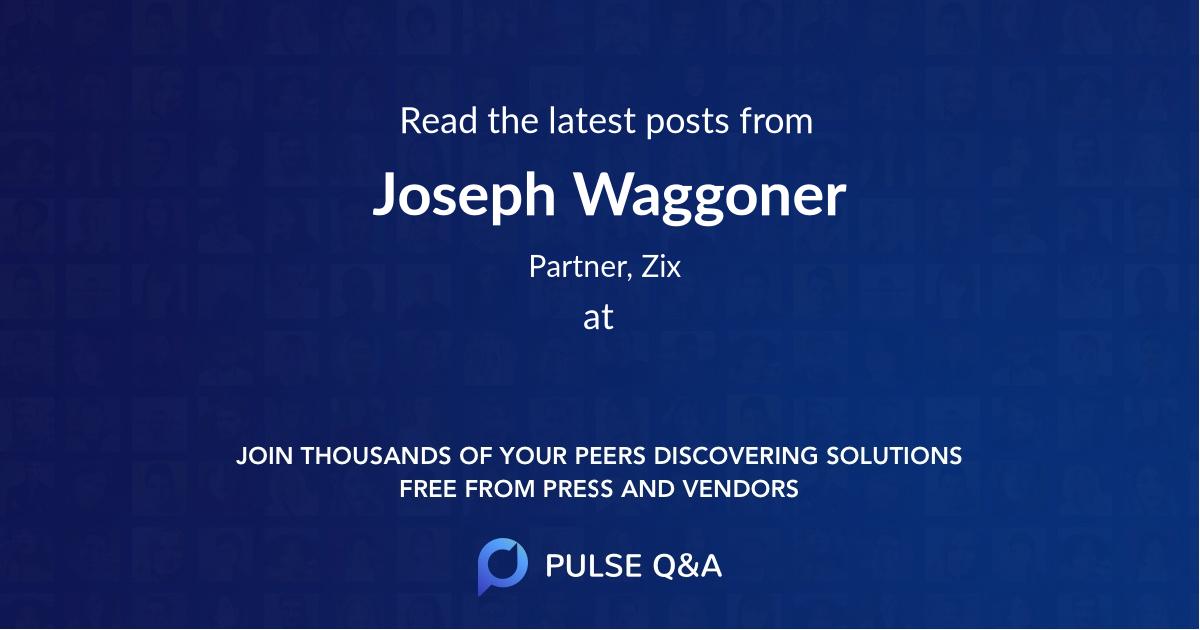 Joseph Waggoner