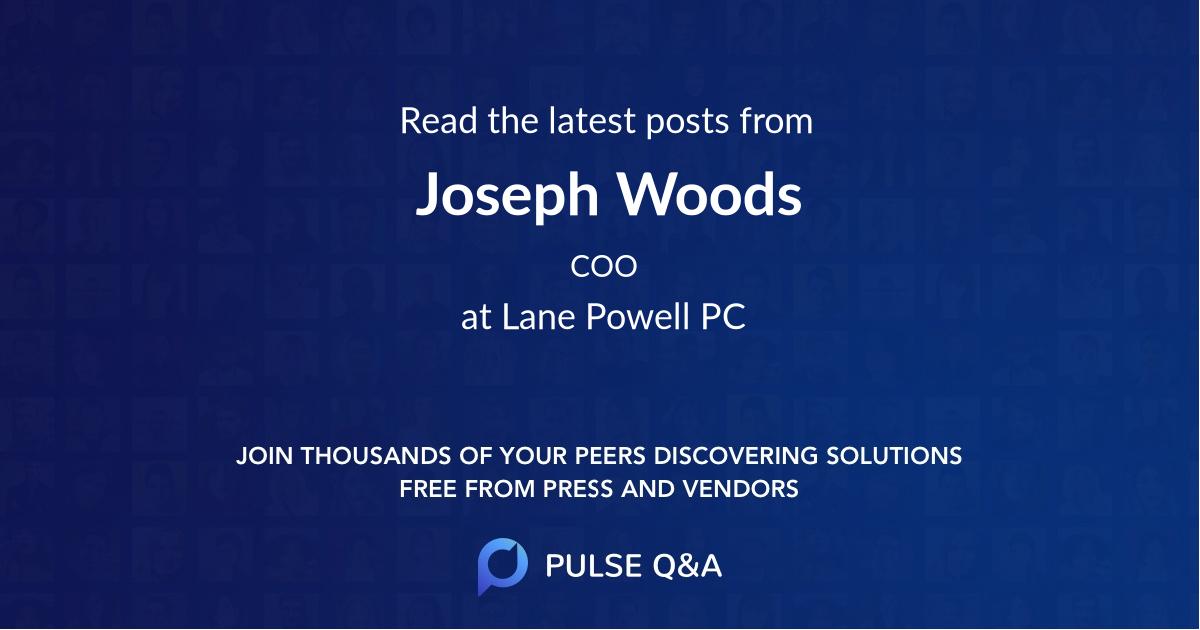 Joseph Woods