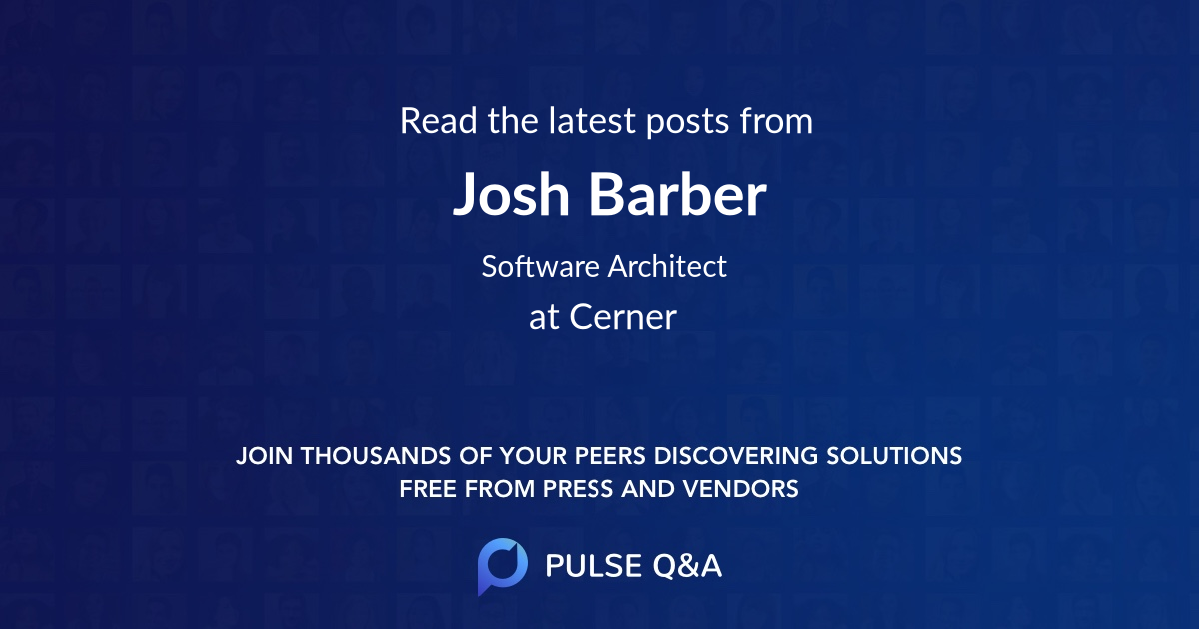 Josh Barber