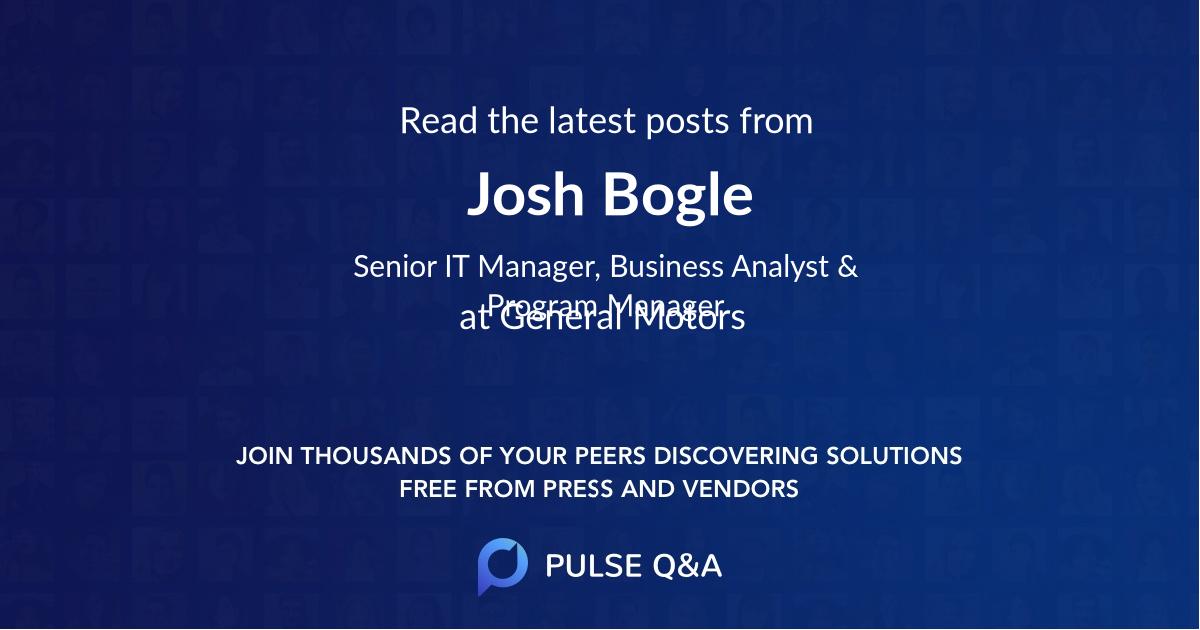 Josh Bogle