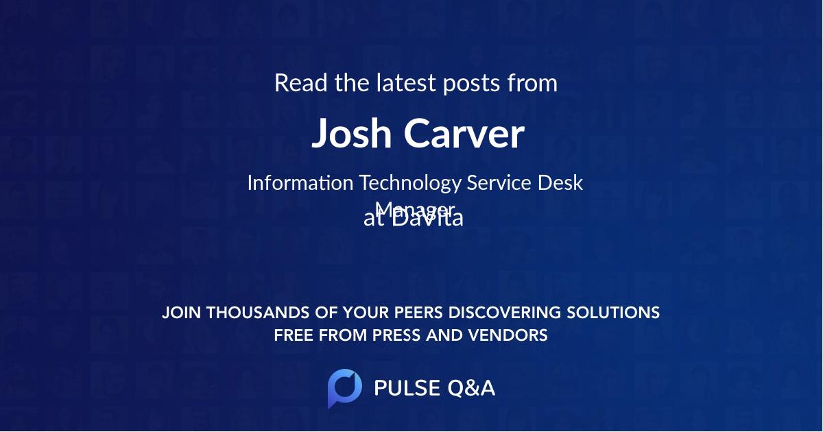 Josh Carver