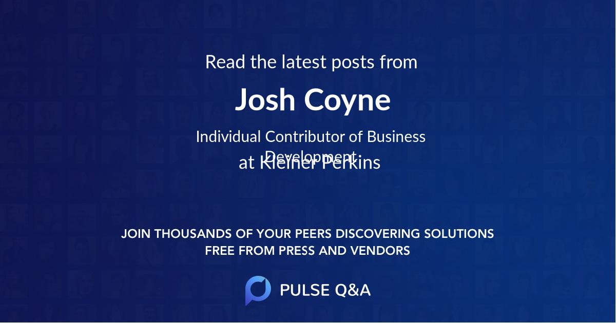Josh Coyne