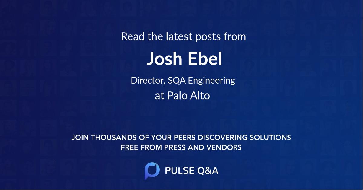 Josh Ebel