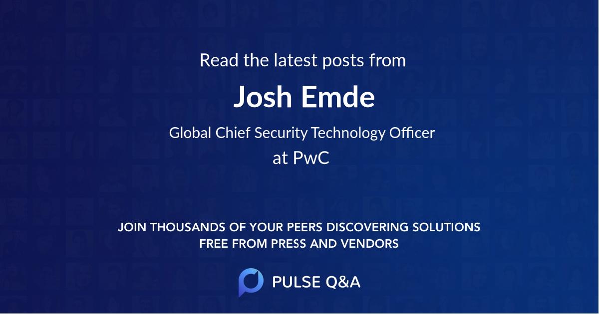 Josh Emde