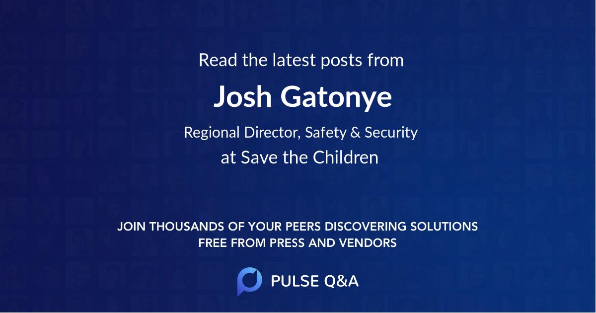 Josh Gatonye