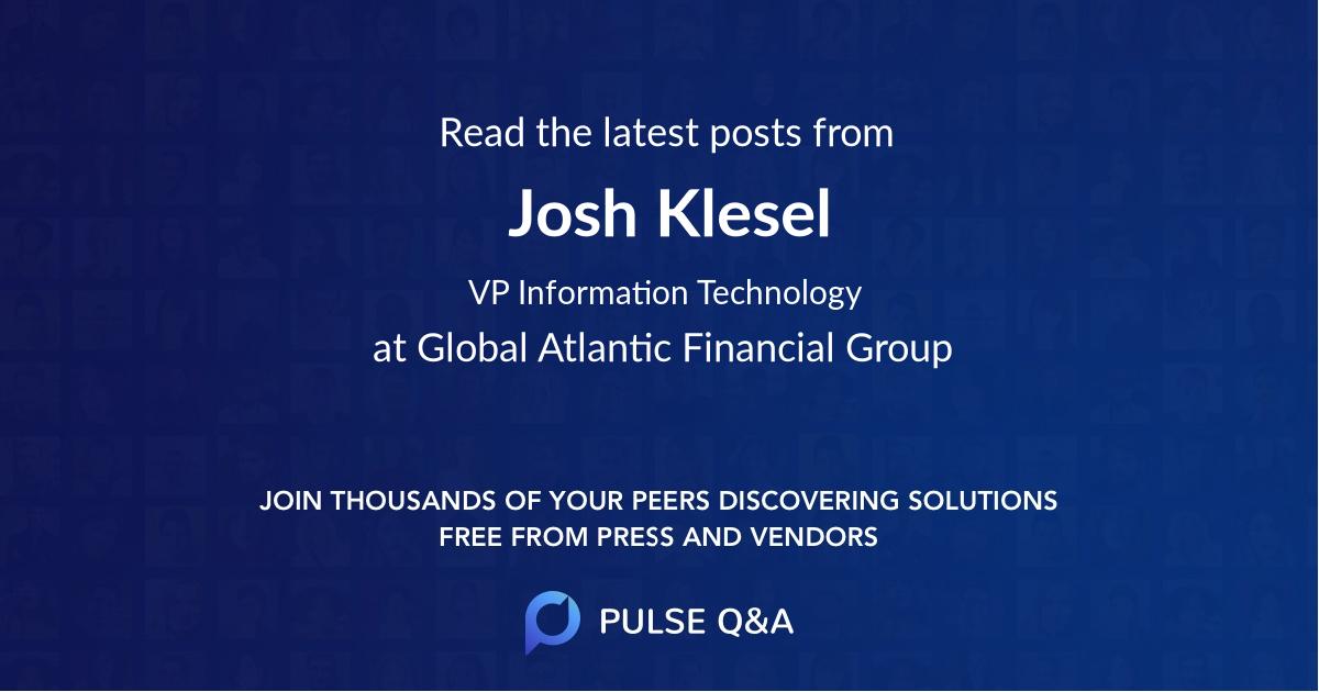 Josh Klesel