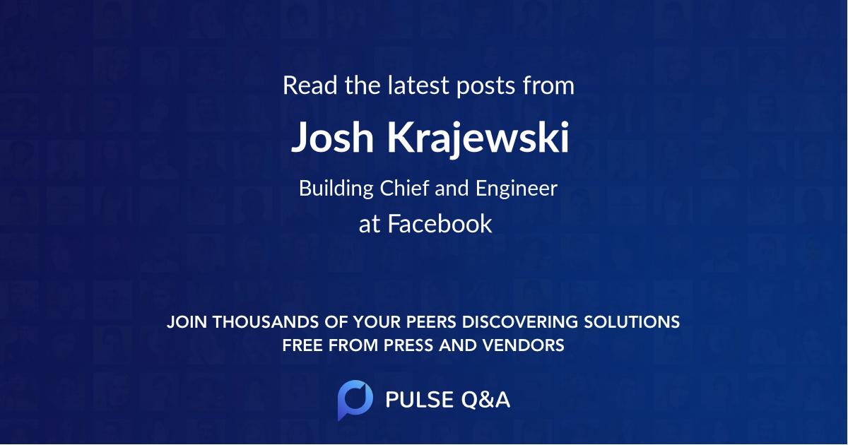 Josh Krajewski