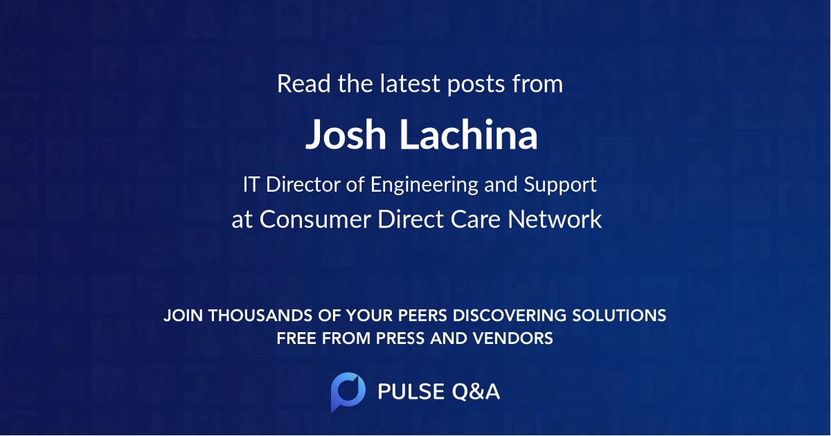 Josh Lachina