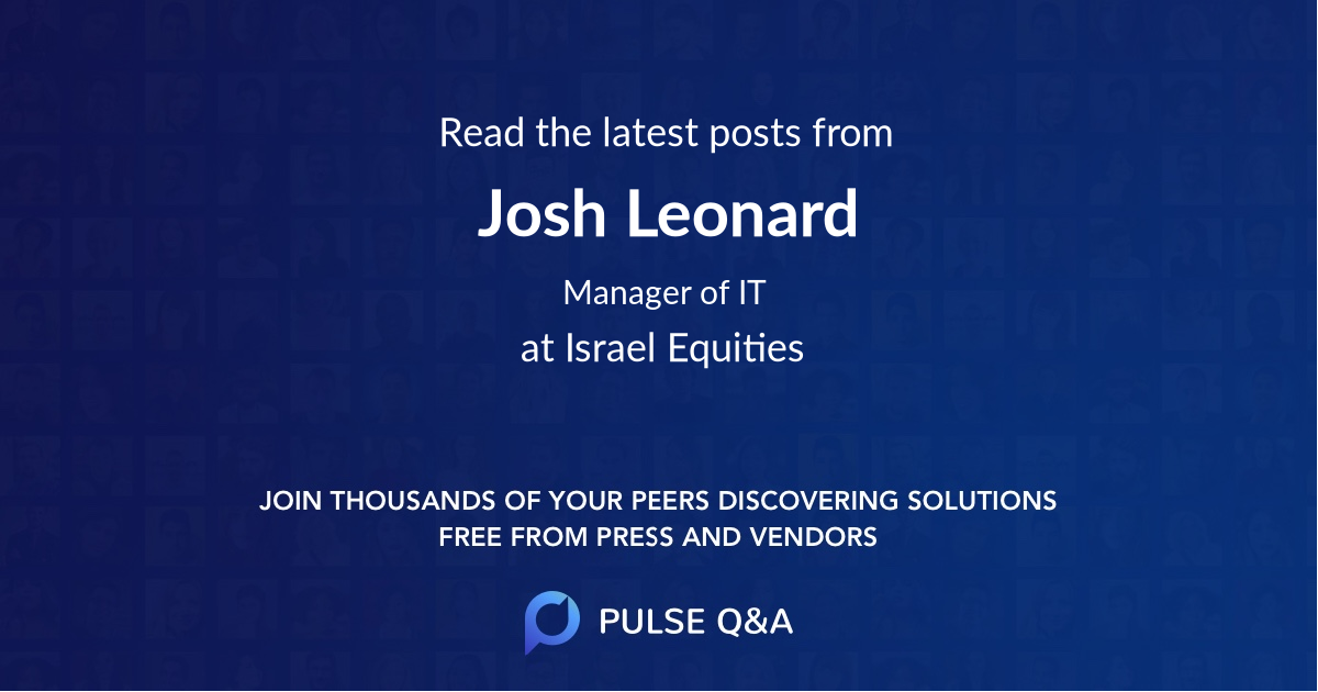 Josh Leonard