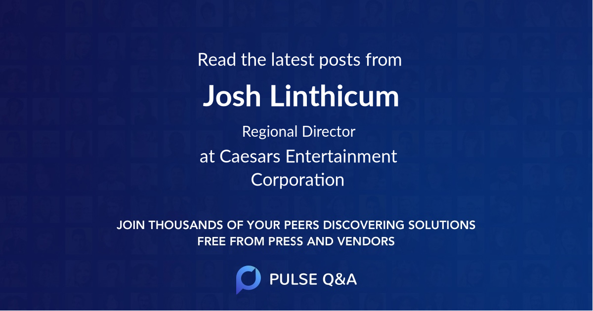 Josh Linthicum