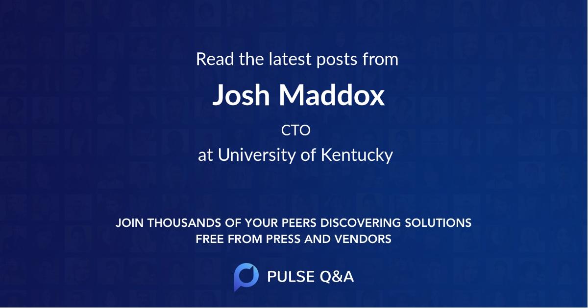 Josh Maddox