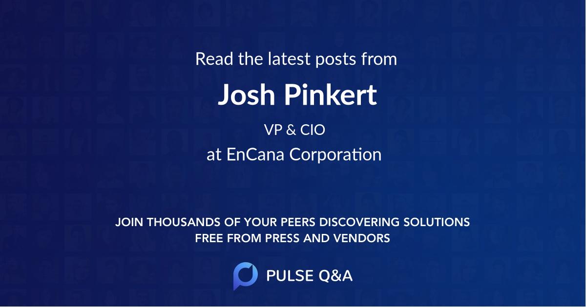 Josh Pinkert