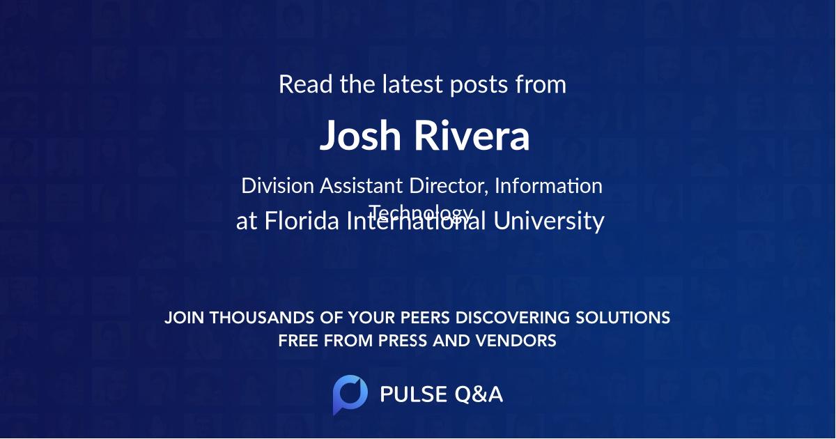 Josh Rivera