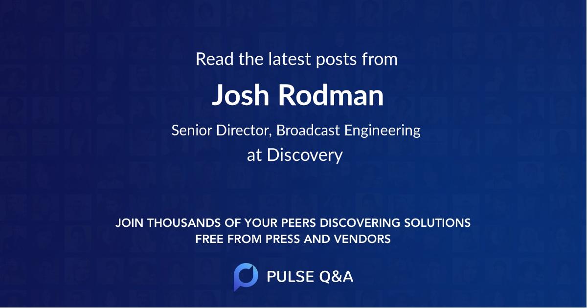 Josh Rodman