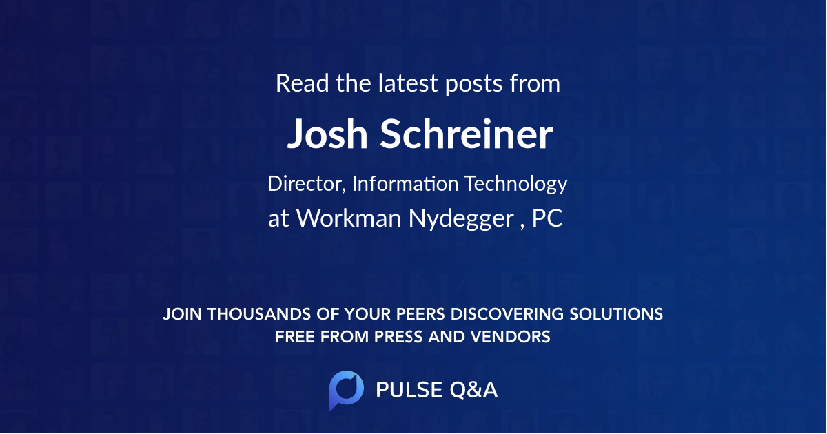Josh Schreiner