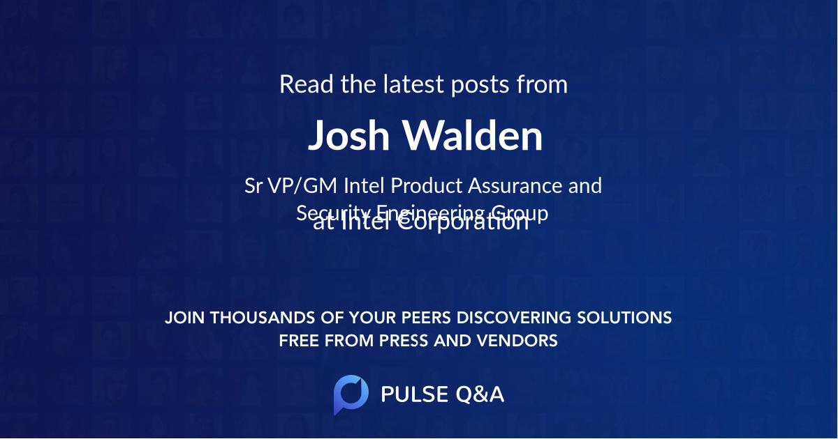 Josh Walden