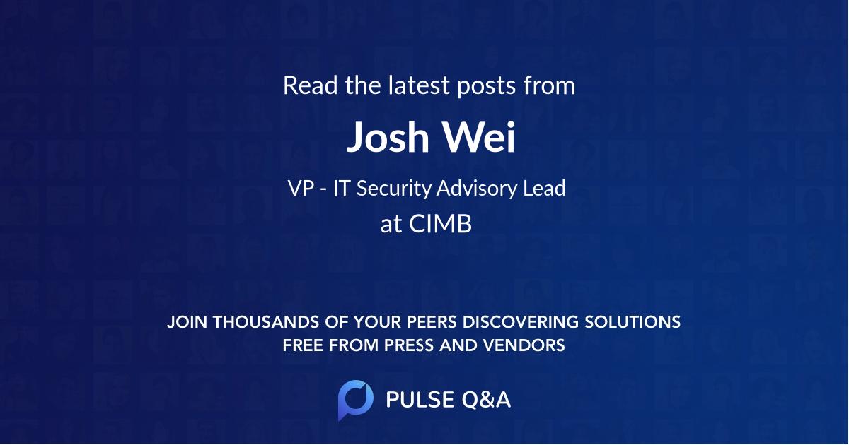 Josh Wei