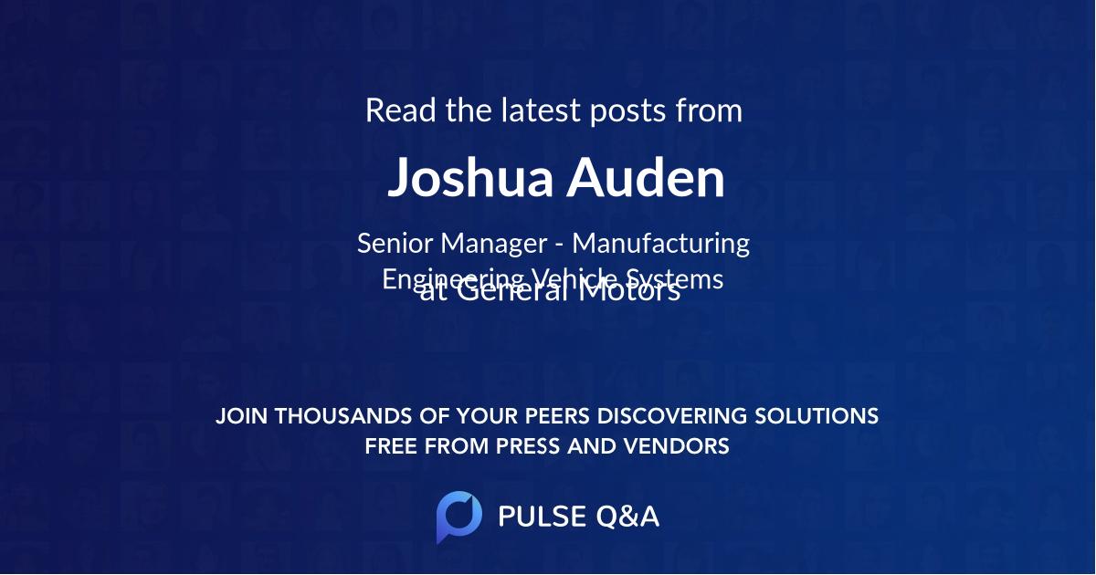 Joshua Auden