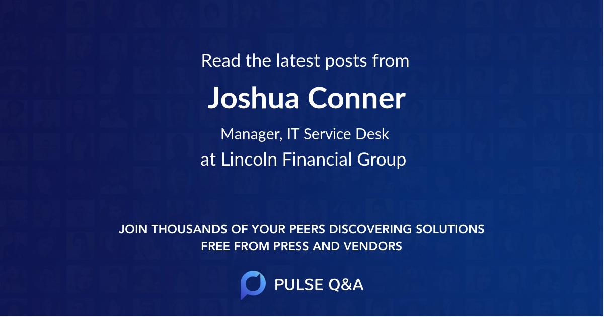 Joshua Conner