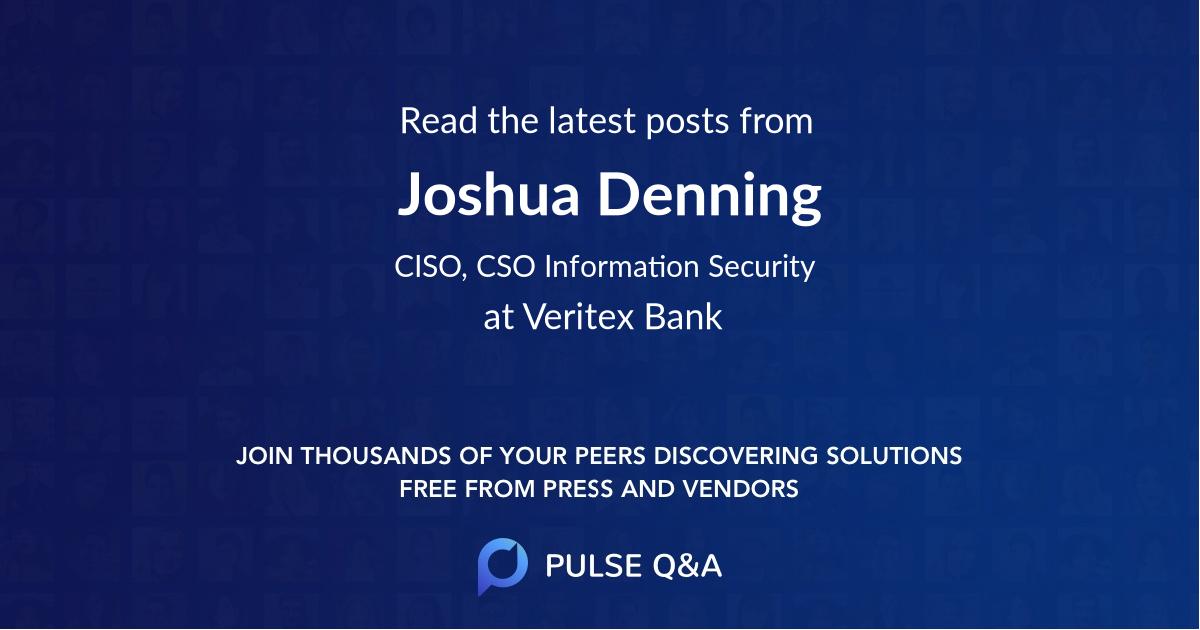 Joshua Denning