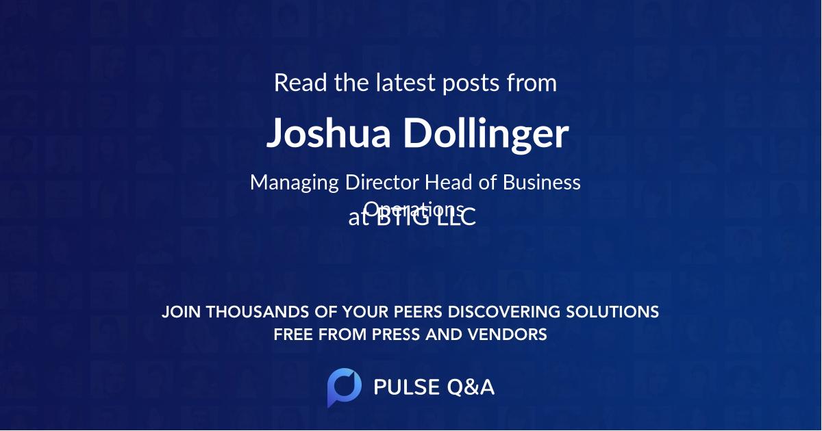 Joshua Dollinger