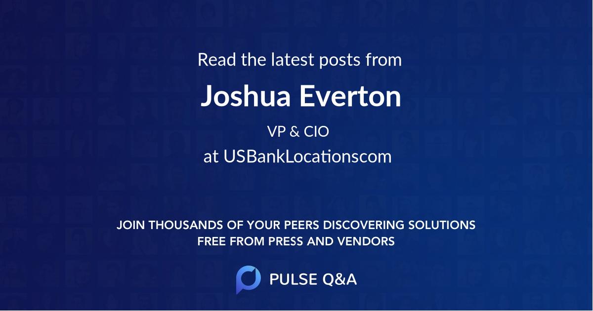 Joshua Everton