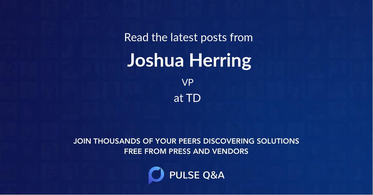 Joshua Herring
